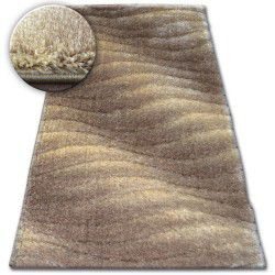 Carpet Shaggy SPACE 3D B222 l.brown