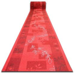 Runner anti-slip AGADIR red