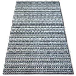 Zigzag szőnyegpadló szürke 0093