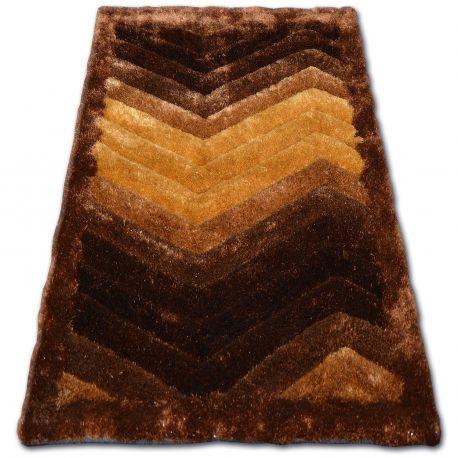 Carpet SHAGGY SOFT - 3D TYC314 brown