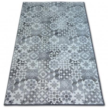 TAPIS - MOQUETTE MAIOLICA gris style de Lisbonne LISBOA