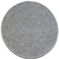 Carpet round SERENADE taupe