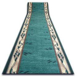 Csúszásgátló futó szőnyeg MODERN zöld